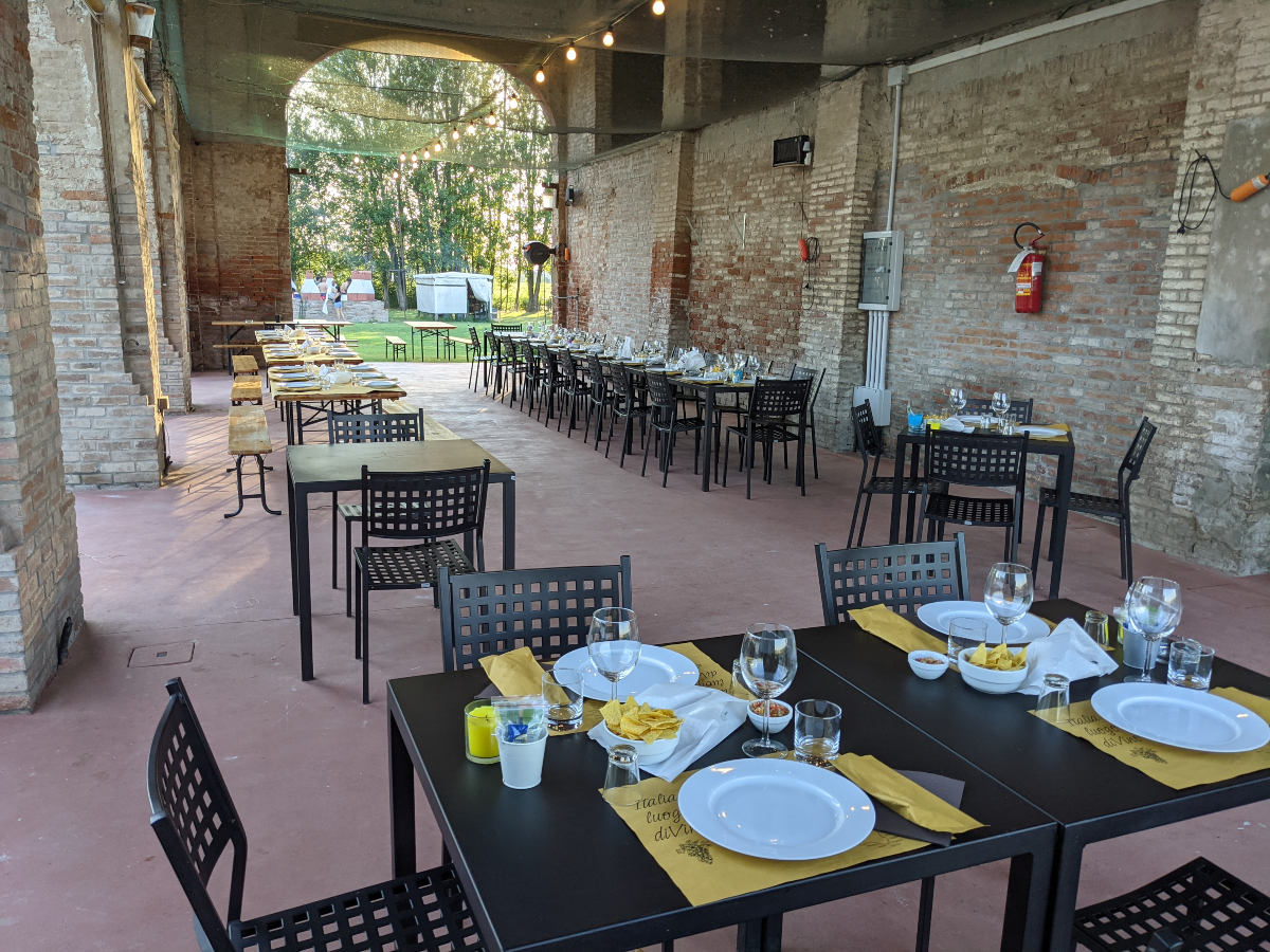 Grill Park Ferrara - La sala estiva